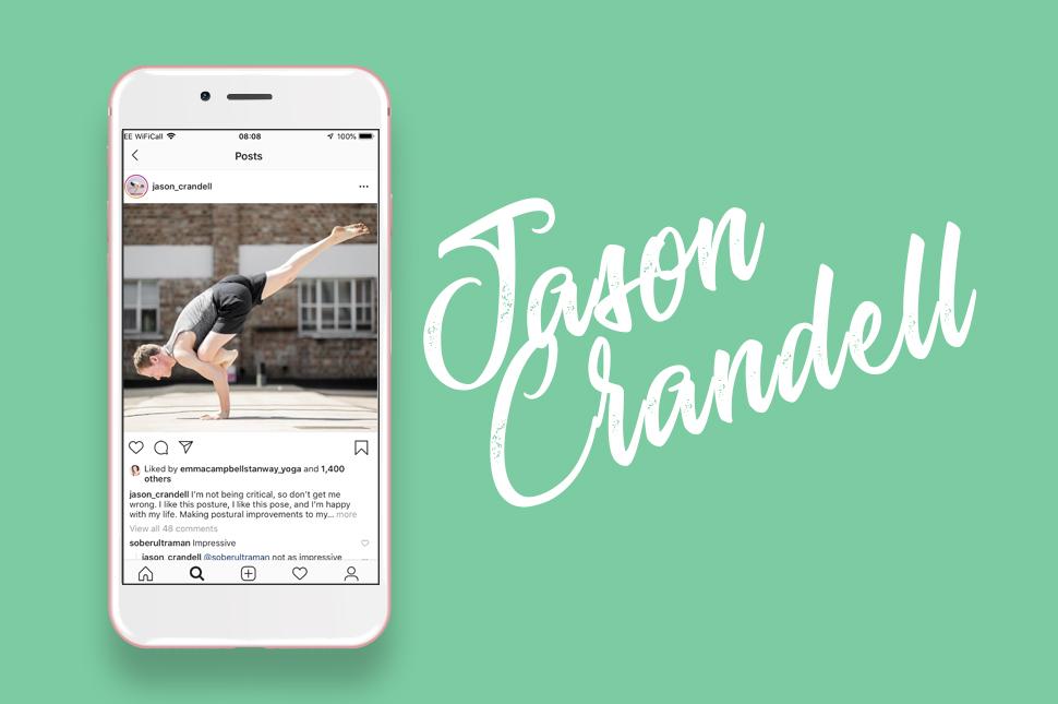 Yoga Instagrammer Jason Crandell