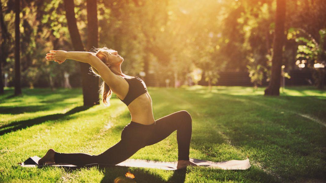 Yoga for stress management psoas vagus tone